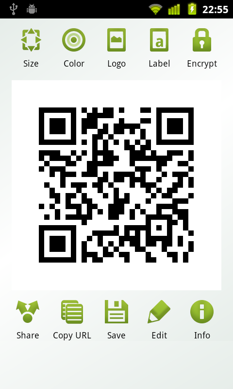 QR Droid Zapper | Encrypted QR Codes: Share secret messages