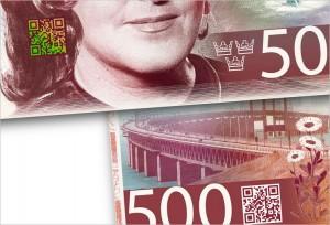 QR swedish-banknote